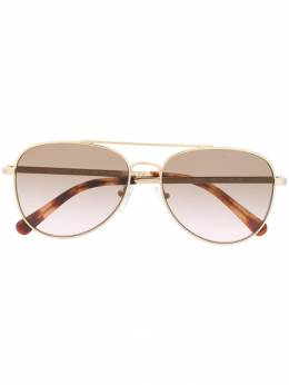 Michael Kors - gradient aviator sunglasses 96559566869800000000