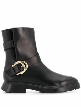 Stuart Weitzman ботинки Brenna с пряжкой BRENNASPORTCALF
