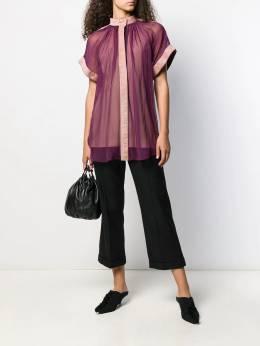 Maison Rabih Kayrouz - полупрозрачная блузка свободного кроя T9999R95595599000000