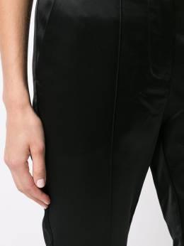 Josie Natori укороченные атласные брюки кроя слим F17114