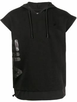 Fila - printed logo hoodie 69395595063000000000