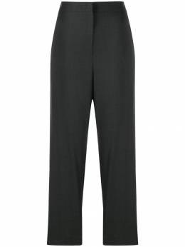 Brunello Cucinelli укороченные брюки с лампасами M0H32P6365