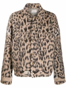 Laneus куртка с анималистичным принтом GBU515
