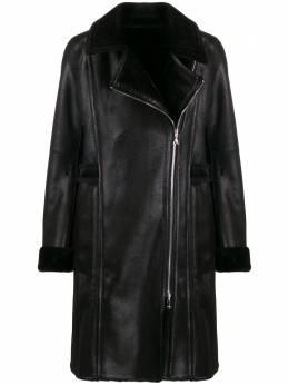 Patrizia Pepe - fitted biker coat 859A5T89569966500000