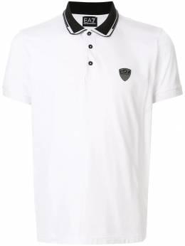 Ea7 Emporio Armani - back logo colour block polo shirt F80PJZ8Z950653930000