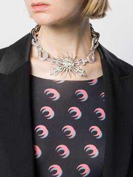 Paco Rabanne - crystal embellished statement necklace BB6639MET65695596960