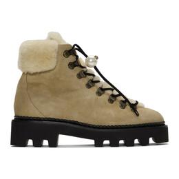 Nicholas Kirkwood Beige Delfi Hiking Boots 901A02FLS4