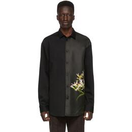 Oamc Black Courtney Shirt 192637M19200304GB