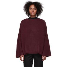 Won Hundred Burgundy Brook Sweater 192636F09600401GB