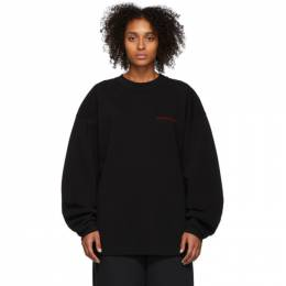 Alexander Wang Black Chynatown Sweatshirt 192187F09800102GB