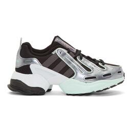 Adidas Originals Black EQT Gazelle Sneakers EE5158