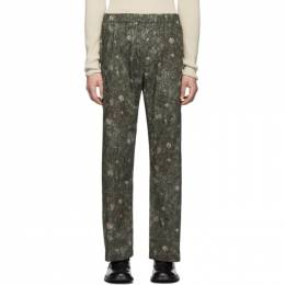 Lemaire Green Sunspel Edition Elasticated Trousers 192646M19101604GB