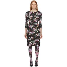 Erdem Black Reese Dress 192641F05400403GB