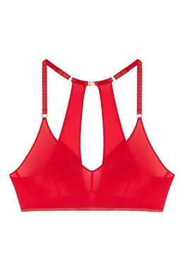 Красный бюстгальтер Bralette Daisy Le Journal Intime 2570159873