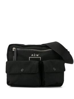 A-Cold-Wall* поясная сумка с карманами MF19LBBC01