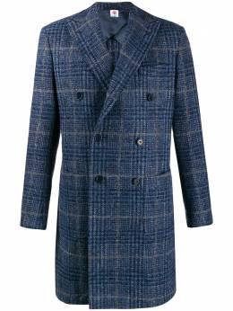 Borrelli пальто в клетку MILANO