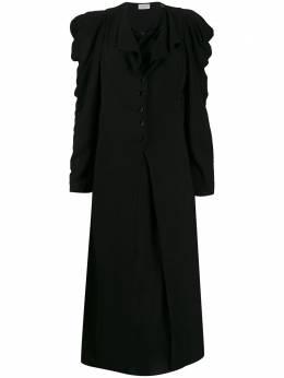 Lemaire платье миди на пуговицах W194DR251LF387