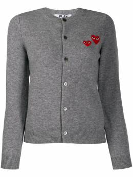 Comme Des Garcons Play кардиган с вышивкой AZN071051