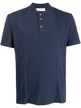Pringle Of Scotland рубашка-поло с прошитыми вставками MTG088