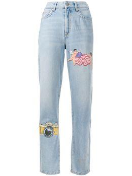 Fiorucci джинсы Tara NY прямого кроя с нашивками W02BTAR2DLV