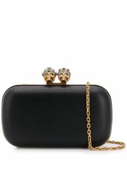 Alexander McQueen клатч 'King Queen' с декорированной застежкой 554183AM00Z