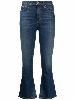 Citizens Of Humanity укороченные джинсы с завышенной талией 1761B1140