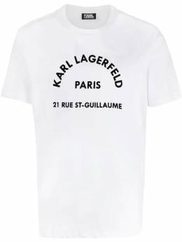 Karl Lagerfeld футболка с логотипом 7550390592223