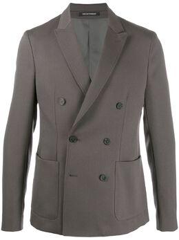 Emporio Armani двубортный пиджак 41G40041089