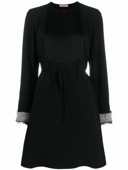Twin-Set декорированное платье-трапеция 192TT229B
