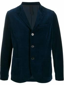 Harris Wharf London пиджак в рубчик C8P41MYRT