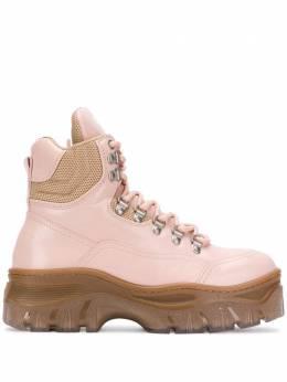 MSGM ботинки Tractor на шнуровке 2742MDS517398