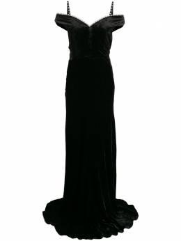 Maria Lucia Hohan декорированное платье макси Ayla AYLA