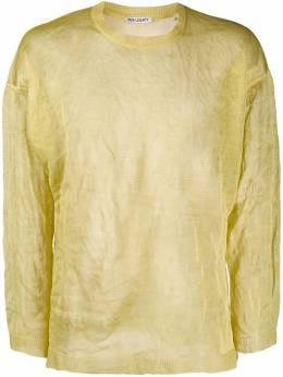 Our Legacy трикотажный свитер с жатым эффектом M1933PA