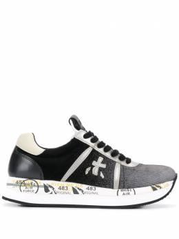 Premiata кроссовки со вставками CONNY4102