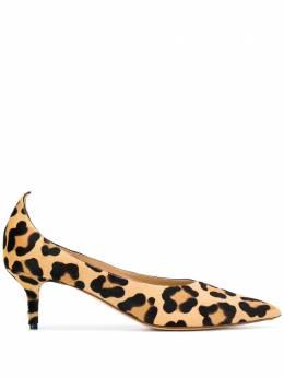 Francesco Russo туфли-лодочки с леопардовым принтом R1P535N205