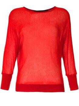 Gloria Coelho трикотажная блузка V20N016