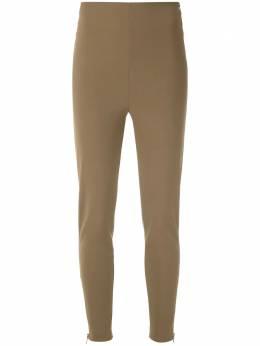 Gloria Coelho брюки скинни с завышенной талией V20K004