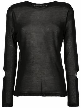 Gloria Coelho трикотажная блузка с вырезами V20N009