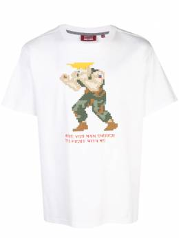 Mostly Heard Rarely Seen 8-Bit Are You Man Enough To Fight With Me pixelated T-shirt MHEB08AIT70