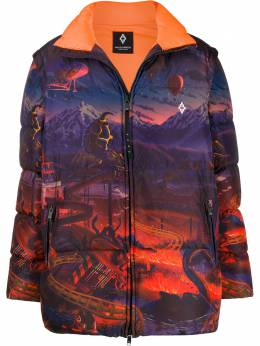Marcelo Burlon County Of Milan пуховик Fantasy CMED024F19B590588801