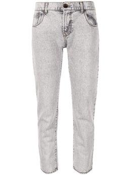 Emporio Armani прямые джинсы средней посадки 6G2J362D2JZ