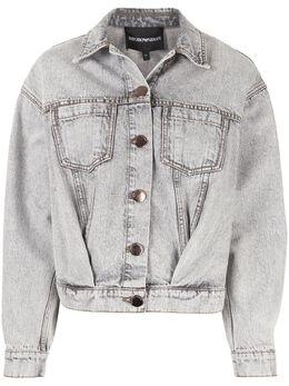 Emporio Armani джинсовая куртка оверсайз 6G2B952D2JZ