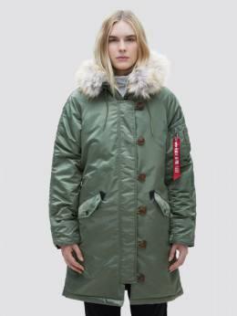 Куртка женская Alpha Industries модель WJE45500C1_sage 1869077