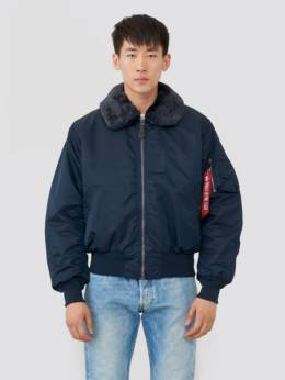 Куртка мужская Alpha Industries модель MJB23010C1_rep_blue