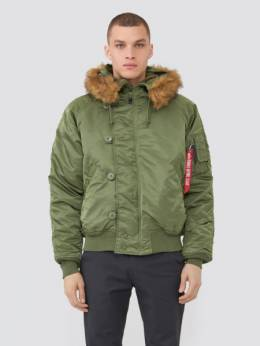 Куртка мужская Alpha Industries модель MJN30000C1_sage