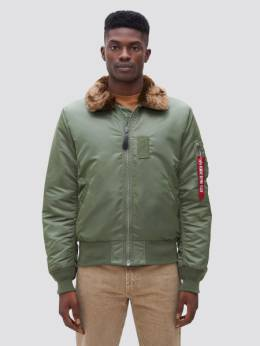 Куртка мужская Alpha Industries модель MJB45500C1_sage_brown