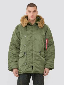 Куртка мужская Alpha Industries модель MJN31000C1_sage