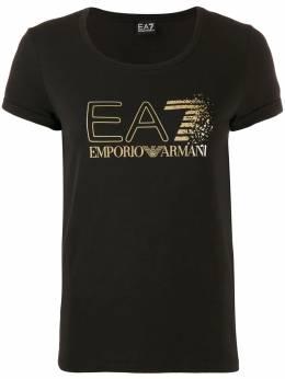 Ea7 футболка с логотипом 6GTT24TJ12Z