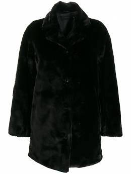 J Brand boxy fit button down coat JB002423