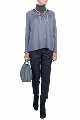 Свободный свитер в серых тонах Fabiana Filippi 2658160281